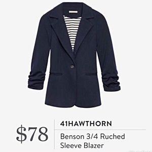 41 Hawthorn Stitch Fix Navy Benson Blazer